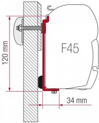 Fiamma Adapter Kit Challenger Chausson für Markise F45