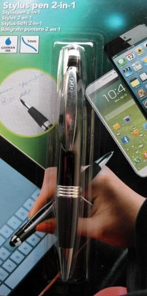 Touchscreen Stift 2 in 1 Kugelschreiber