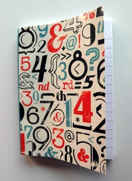 Notizblock 7,5 x 10,5 cm