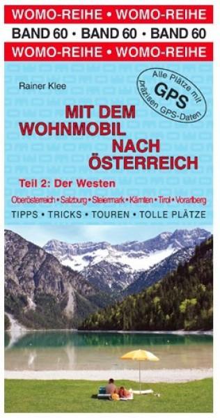 Mit dem Wohnmobil nach Österreich West