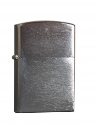 Benzinfeuerzeug 'Chrom' matte Ausführung