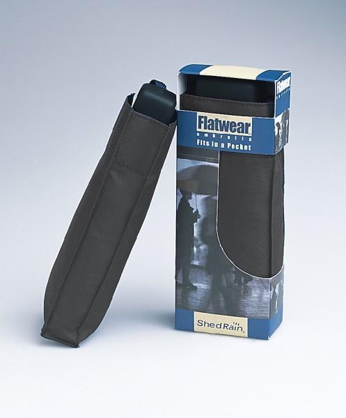 ShedRain Regenschirm 'Mini Pocket' schwarz, 22,8 cm