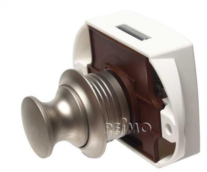 Push Lock von außen zu öffnen silber