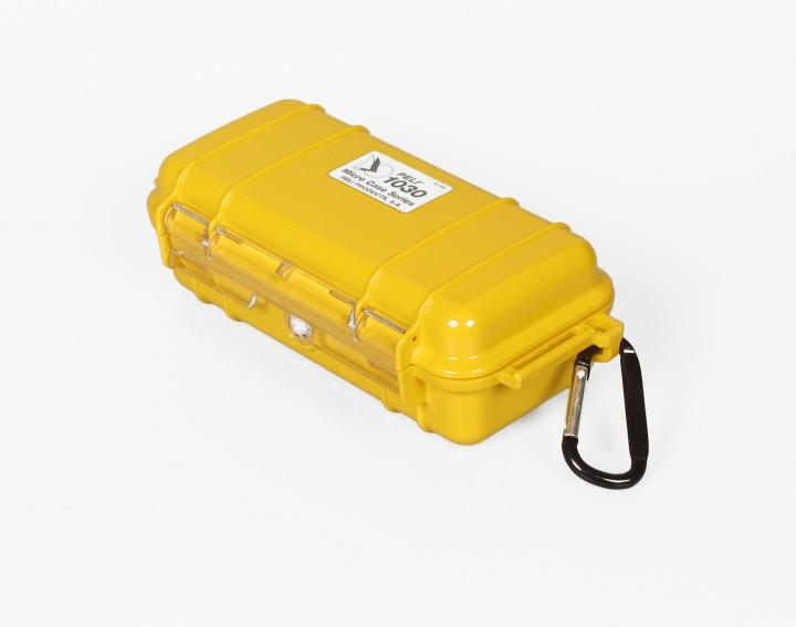 Peli 'MicroCase 1030' gelb