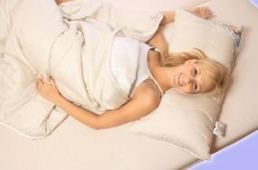 Wohlfühlset Comfort Clean 135 x 200 cm weiß