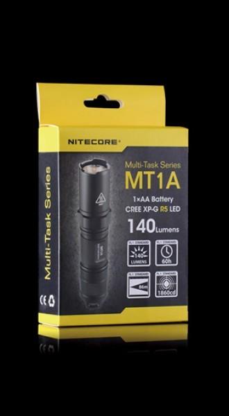 NiteCore LED Taschenlampe MT Modell 1A
