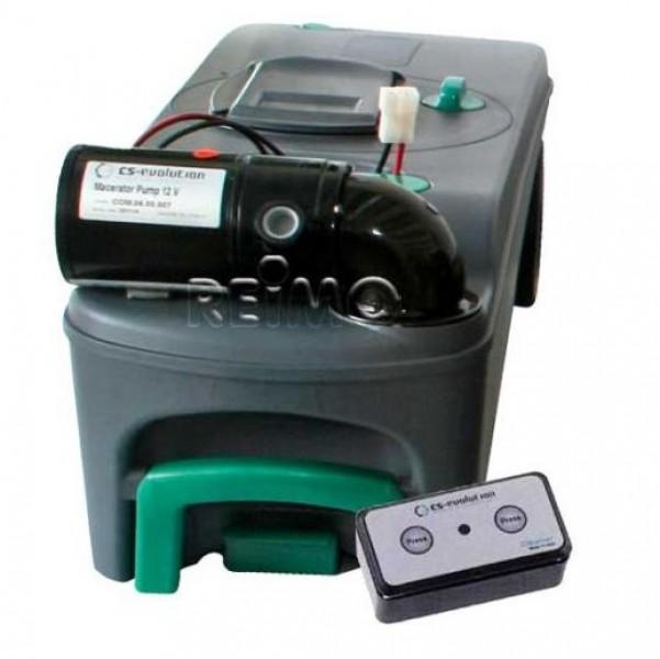 WC-Entleerung für Thetford C500 Cassette