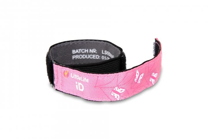 LittleLife Armband Safety iD Schmetterling