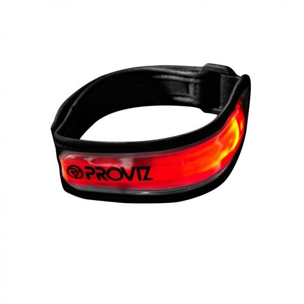 Proviz LED Armband rot Größe S