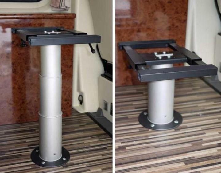 Einsäulen-Hubtischgestell für Reisemobil und Caravan