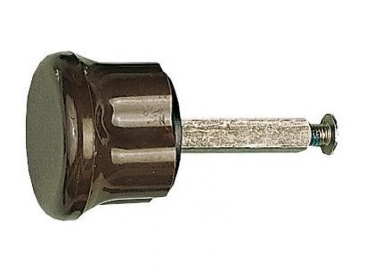 Drehknopf 35 mm langer 4-Kantstift