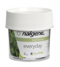 Nalgene Dose Polycarbonat 'white' 125 ml, Hals Ø 63 mm