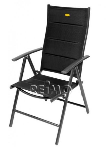 Campingstuhl Ischia Mega Comfort schwarz