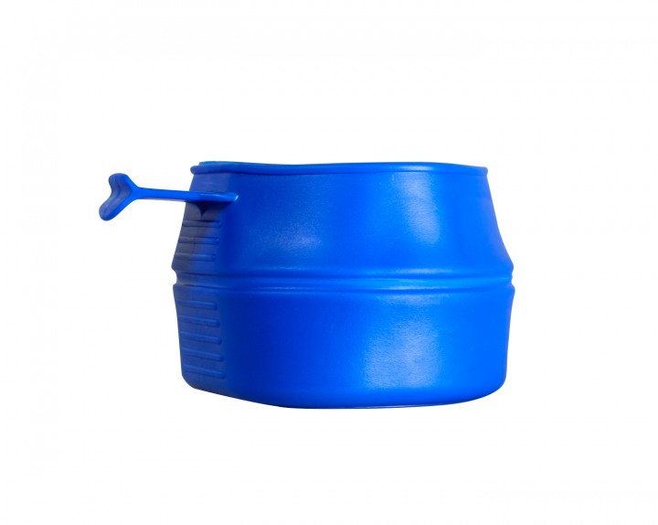 Falttasse blau