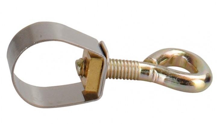 Rohrklemme 22 mm mit Herzschraube
