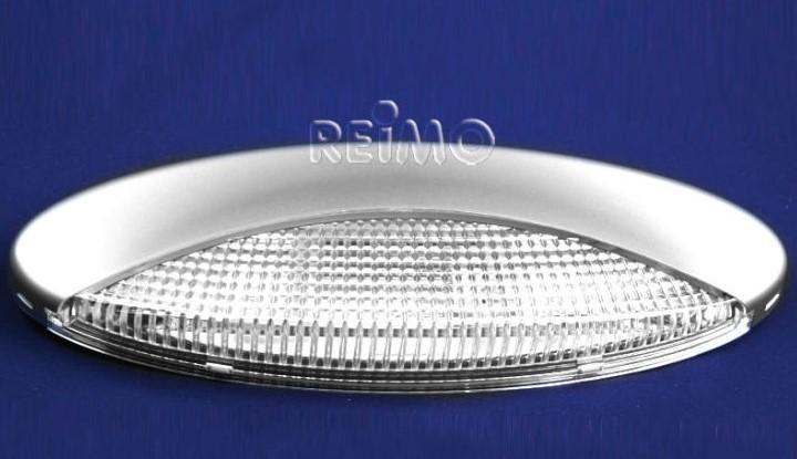 Luna Vorzeltleuchte 2 Watt LED Silber