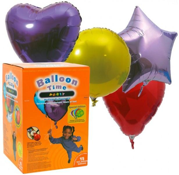 Helium-Ballon-Kit Balloon-Time Party Special Edition