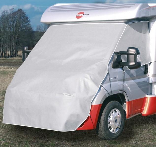 Reisemobil-Bugschutzhaube Titan für Mercedes Sprinter Baujahr 2000 - 03/2006