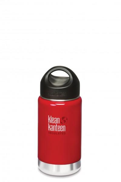 Klean Kanteen Flasche 'Insulated' rot, 0,355 L