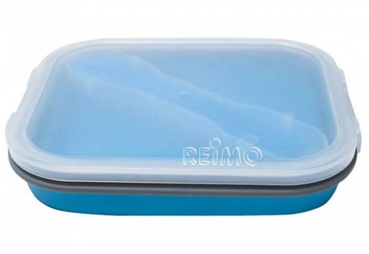 Lunchbox mit Besteck faltbar