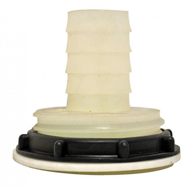 Tankanschluss mit Kontermutter 30 mm
