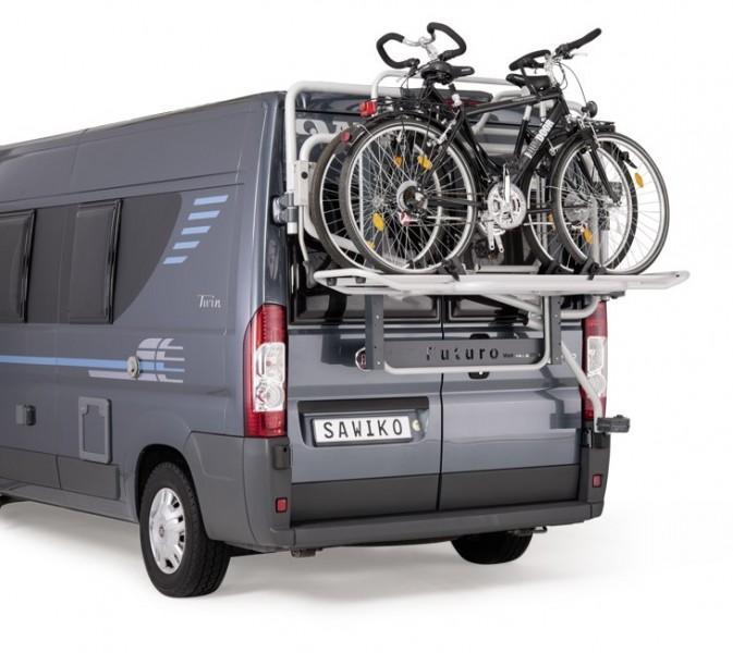 Lastenträger Futuro Basic für 3 E-Bikes Hochdachtyp H3