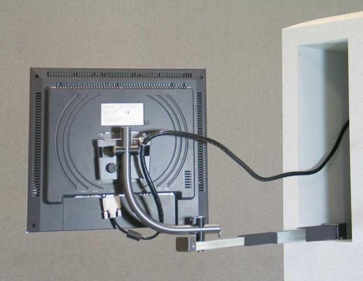 Tft Halter Medio V für 17 Zoll Monitor hängende Montage