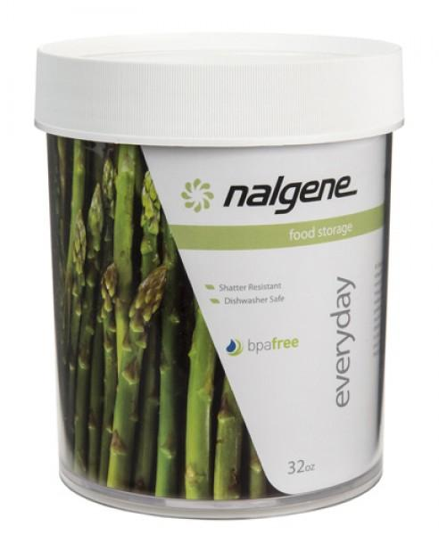 Nalgene Dose Polycarbonat 'white' 1000 ml, Hals Ø 112 mm