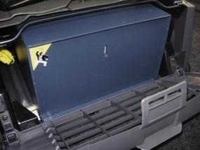 Mobil Safe Sitzsockelsafe Fiat Ducato Easy Fix 244 mit elektronischem Schloss