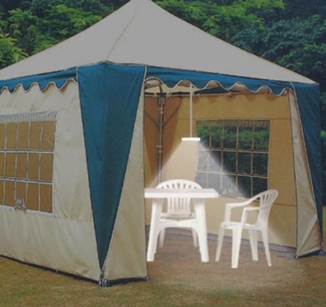 LED Camping-/Gartenleuchte