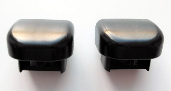 Thule Endkappen schwarz für Trittstufen Satz links und rechts
