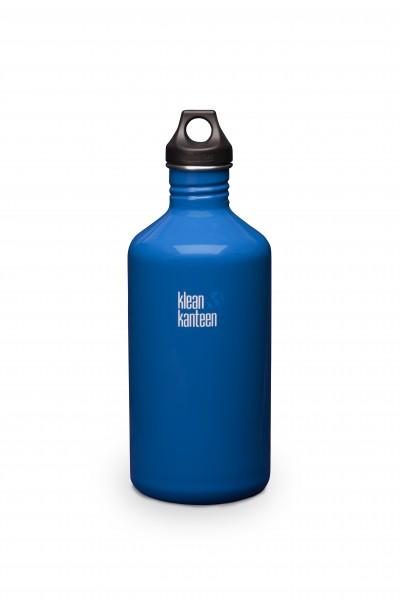 Klean Kanteen Flasche 'Classic' Loop Cap dunkelblau, 1,9 L
