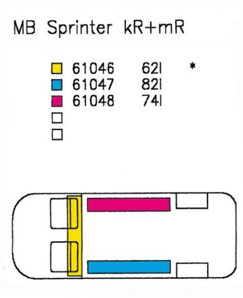 Reimo Wassertank für MB Sprinter & VW LT ab 97 rechts