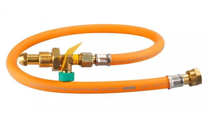 Hochdruckschlauch mit Schlauchbruchsicherung - G 7 GB Propane 450 mm