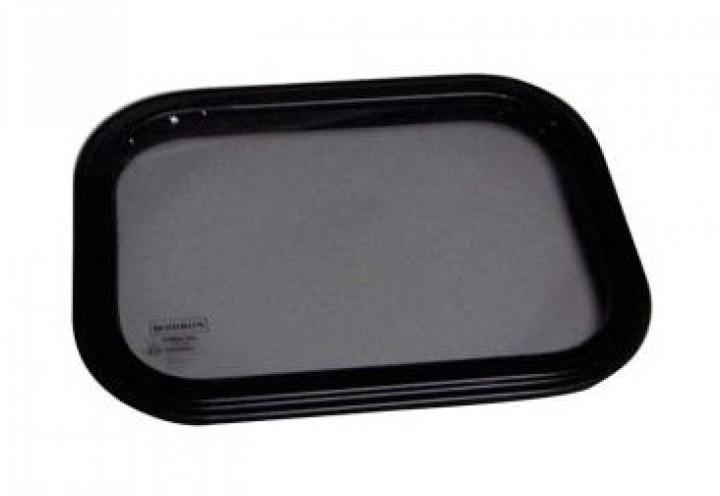 Sicherheitsglasfenster Starr 600x250 mm Rahmen weiß