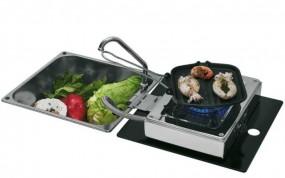 Can Klappbare Kocher-Spülen-Kombination 1-flammig 30mbar