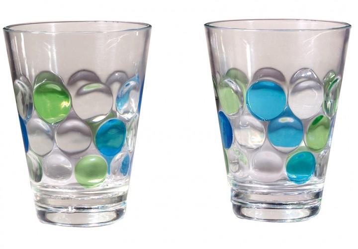 Trinkglas Bubble 0,35l 2er Set