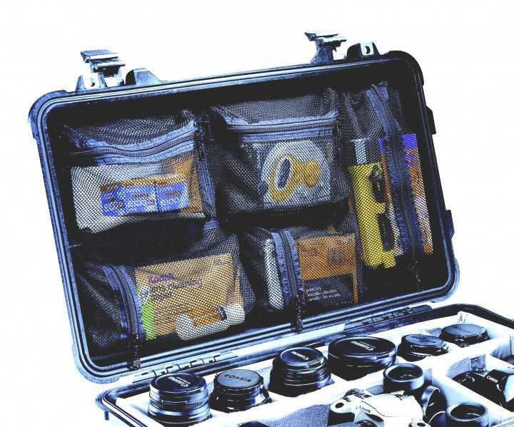 Peli Deckeleinsatz Organizer Flightcase 1510