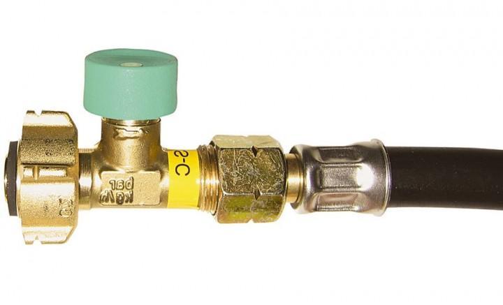 Hochdruckschlauch mit Schlauchbruchsicherung G 2 Frankreich Shell 750 mm