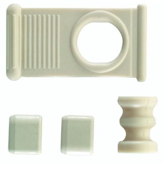 Teilesatz für Springrollo-Seitz elfenbein