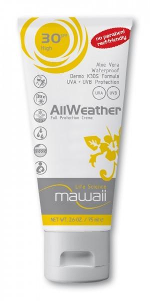 Mawaii 'AllWeather' Protection SPF 30 75 ml