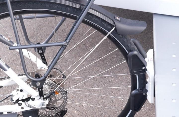 Fahrradparksystem Bikeprofix mit Caravanadapter
