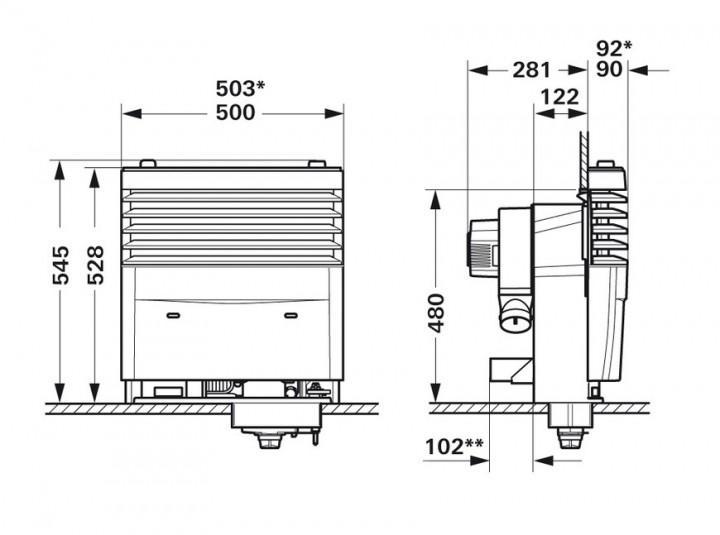 Truma S 3004 mit Zündautomat 30 mbar