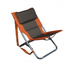 Relags Travelchair 'Beach' orange / braun