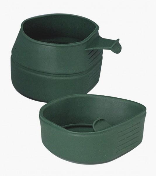 Falttasse dunkelgrün
