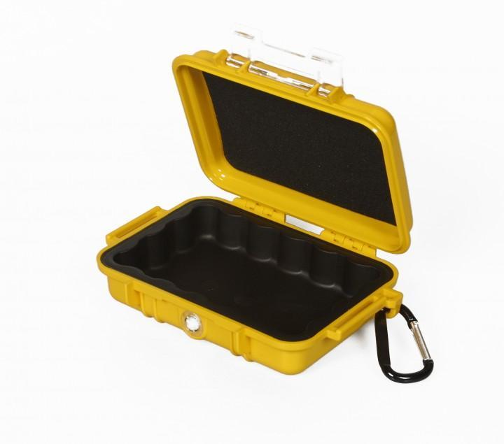 Peli 'MicroCase 1020' gelb