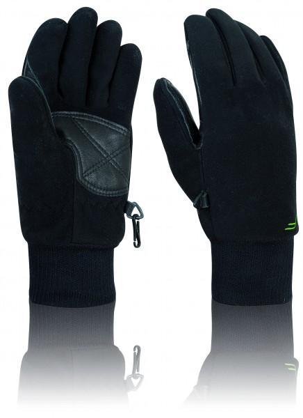 F Handschuhe 'Waterproof' schwarz, L