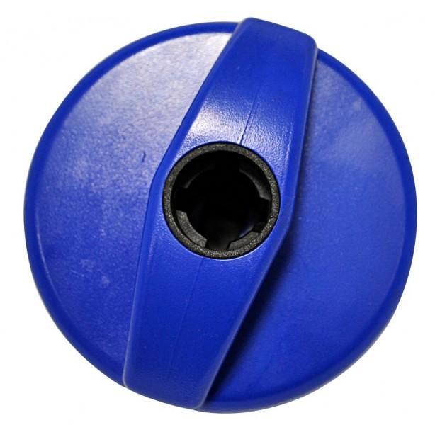 Tankdeckelverschluss blau für STS Schloss-System
