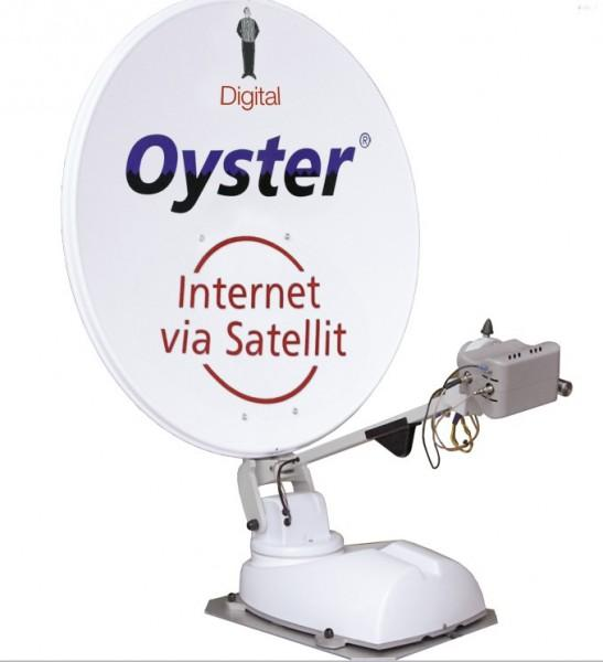 Oyster 85 Digital HDTV Skew Internet
