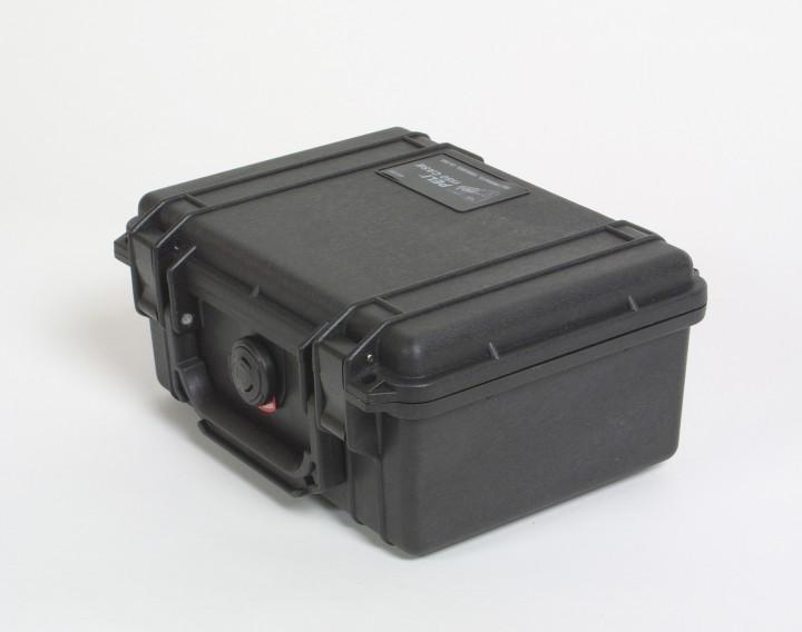 Pelibox 1150 schwarz mit Schaumeinsatz